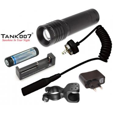 Led baterka pre poľovníka Tank007 TK737 Full Set