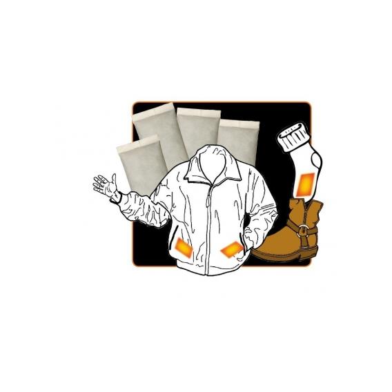 Výhrevné vankúšiky Alpenheat - jednorazové