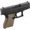 Talon Grip Glock 43 Rubber - moss