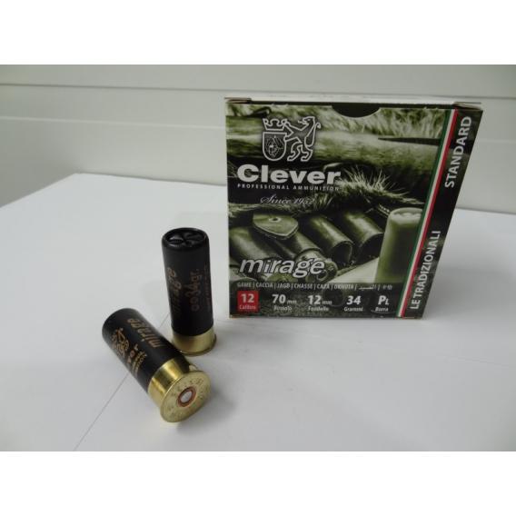Náboje brokové Clever - MIrage T4 Pro Extra 2,4mm, 24 g