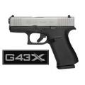 Glock 43X, kal.9x19mm