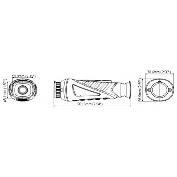 Termovízia Hikvision - Hikmicro OWL 35 mm