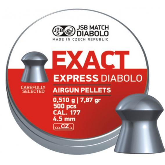 Broky JSB EXACT Express kal. 4,52 mm