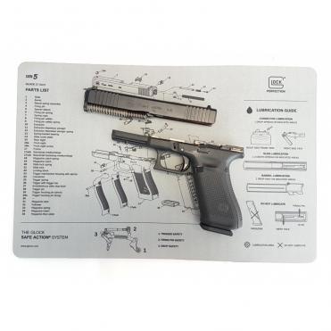 Pracovná podložka Glock Gen.5 grey