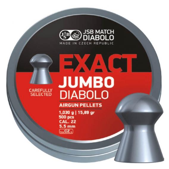 Diabolky JSB Exact Jumbo 5,51 mm, 250 ks