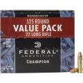 Federal .22LR Champion 36gr/2,33g Cooper Plated HP, 525 ks