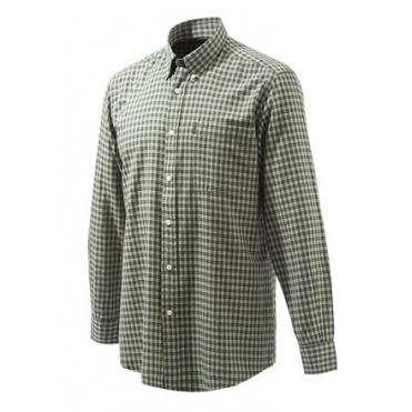 Košeľa Beretta Wood Button kocková