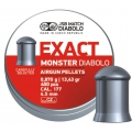 JSB Exact Monster 4,52mm, 400 ks