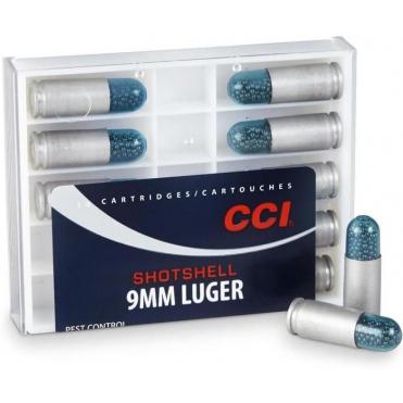 Náboje CCI Brokové 9x19mm Luger Shootshell