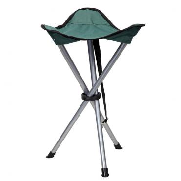 Stolička trojnožka zelená