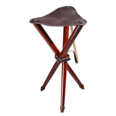 Stolička trojnožka kožená Wald&Forst