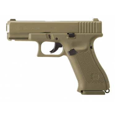Pištoľ CO2 Glock 19x4,5mm BB