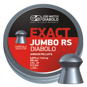 Diabolky JSB Exact Jumbo RS 5,52mm 250 ks