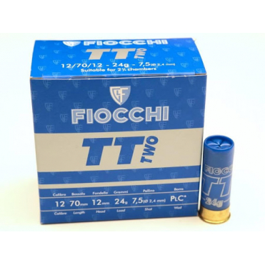 FIOCCHI 12/70 TT Two 2,4mm 24g