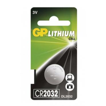 Batéria  GP lítiová gombíková CR2032