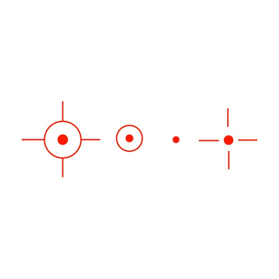 Fomei Kolimátor 1x22x33 mm RED (21 mm)