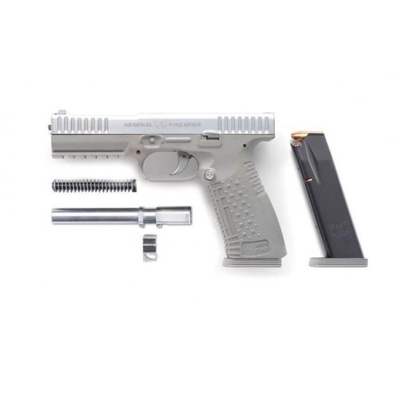 Samonabíjacia pištoľ ARSENAL FIREARMS Strike One Chrome, 9x19 Luger
