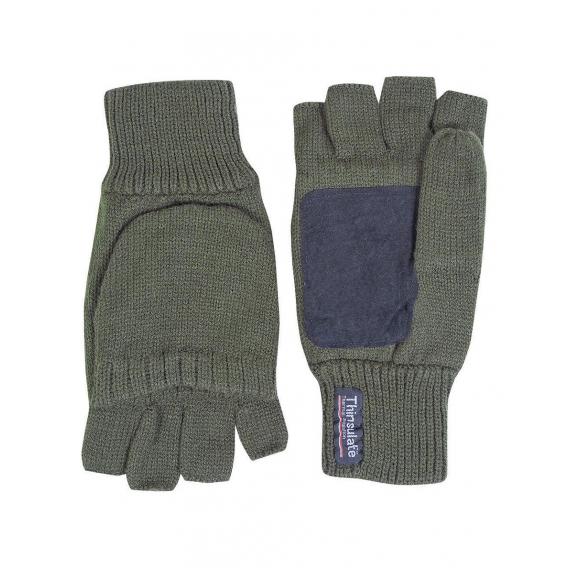 JP Strelecké rukavice Thinsulate zelené