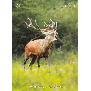 """Nástenný poľovnícky kalendár """"Horami dolami 2021"""""""