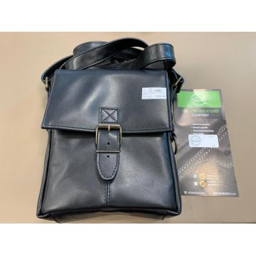Falco Kožená taška na plece čierna