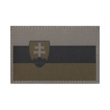 Slovenská vlajka Patch RAL7013
