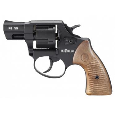 Revolver exp. Röhm RG 59 čierny, kal. 9mm R.K.