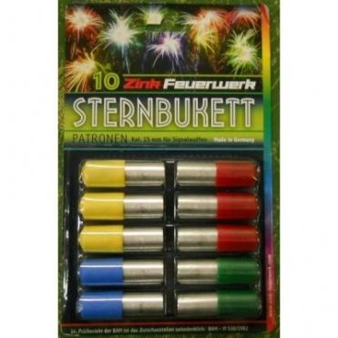Svetlice Pyro signálne  Sternbukell, set 10 ks