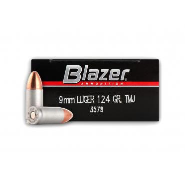 CCI blazer 9mm luger fmj 124gr/8,04g