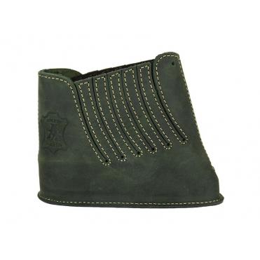 Artipel-kožená botka na pažbu 20mm zelená