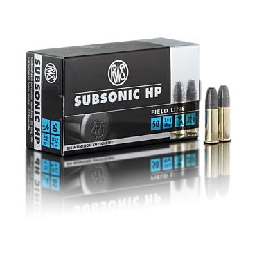 Náboje RWS Subsonic HP .22 LR 2,6g