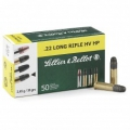 Sellier & Bellot .22 Long Rifle HV HP 2,45g
