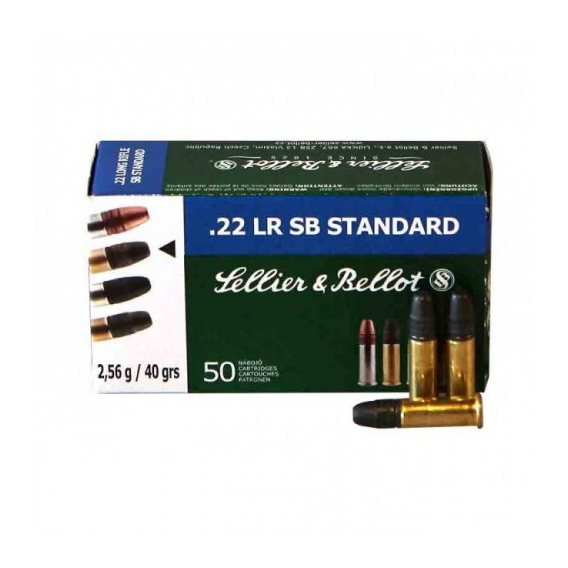 Náboje Sellier & Bellot  '22 LR SB Standard 2,56g