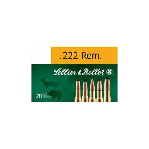 Náboje Sellier & Bellot 222 Rem 3,24g
