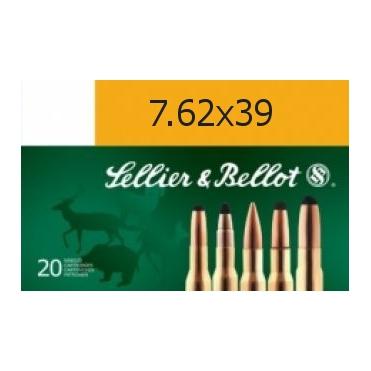 Náboje Sellier & Bellot 7,62x39 SP 8g