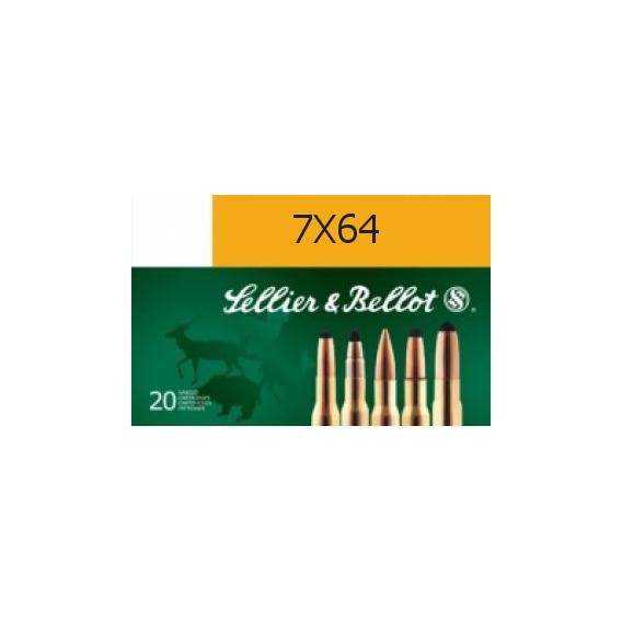 Náboje Sellier & Bellot 7x64 SPCE 11,2g