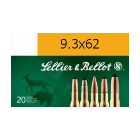 Náboje Sellier & Bellot 9,3x62 SP 18,5g