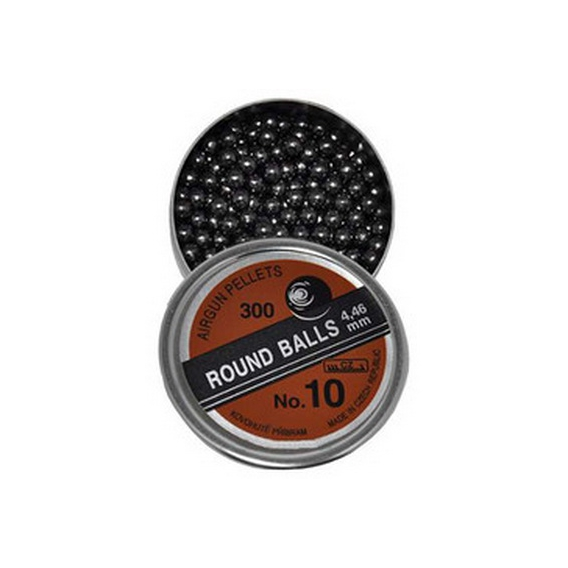 Broky Round Balls č.10 4,46mm 300 ks