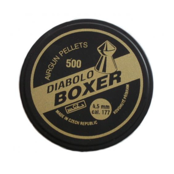 Broky Diabolo Boxer 4,5mm 500 ks
