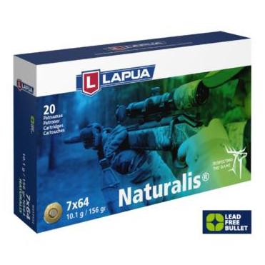 Náboje Lapua Naturalis 7x64 10,1g