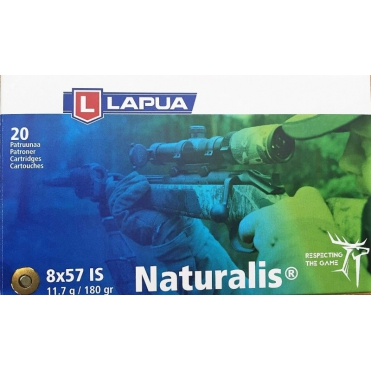 Náboje Lapua Naturalis 8x57 IS 11,7g