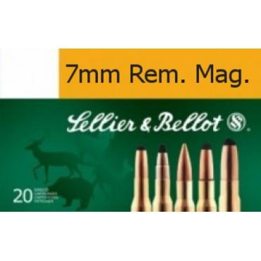 Náboje Sellier & Bellot SPCE 7mm Rem. Mag. 11,2g