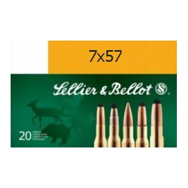 Náboje Sellier & Bellot 7x57 SP 9,1g