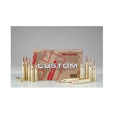Náboje Hornady 6,5x55mm 10,4gr RN