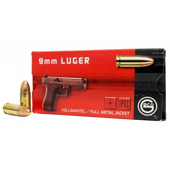 Náboje Geco 9mm Luger FMJ 8,0g