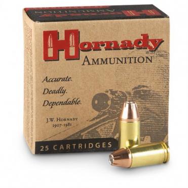 Náboje Hornady 9mm Luger XTP 8,0g