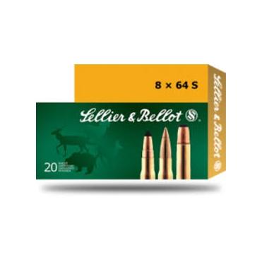 Náboje Sellier & Bellot 8x64 SPCE 12,7g