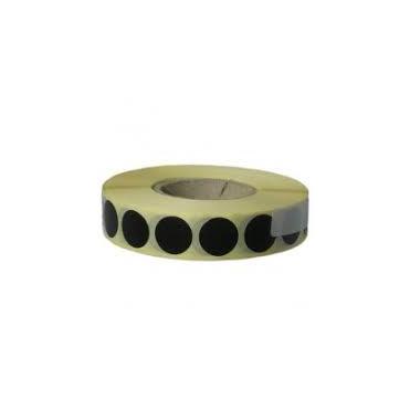 Zálepka na terč 16 mm čierna