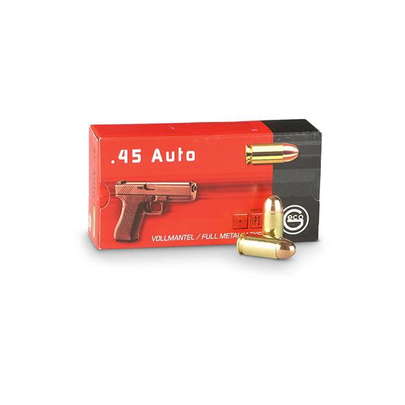 Náboje Geco .45 ACP FMJ 14,9g