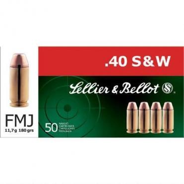 Náboje Sellier & Bellot .40 S&W FMJ 11,7g