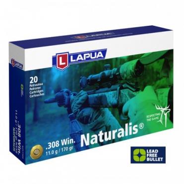 Náboje Lapua 308 Win. Naturalis 11,0g